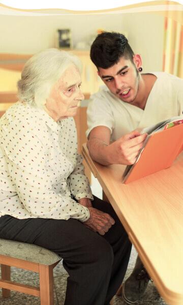 Individualpflege - Pflege im Asklepia Seniorenzentrum
