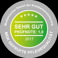 Asklepia Seniorenzentrum - MDK Siegel: geprüfte Qualität